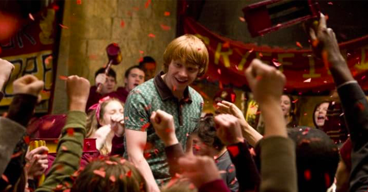 "J.K. Rowling Gave Rupert Grint A Sneaky Shout-Out In ""The Half-Blood Prince"" & We Totally Missed It!"