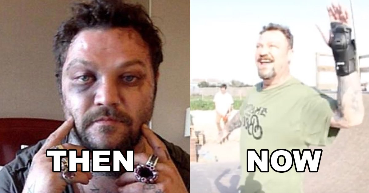 Bam Margera Is Back On A Skateboard And Clearly In Good Shape