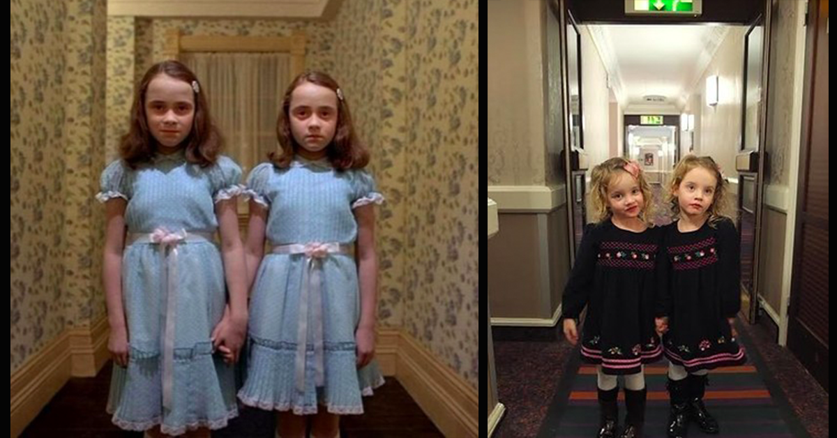 Dad And His Identical Twin Daughters Like To Freak People Out