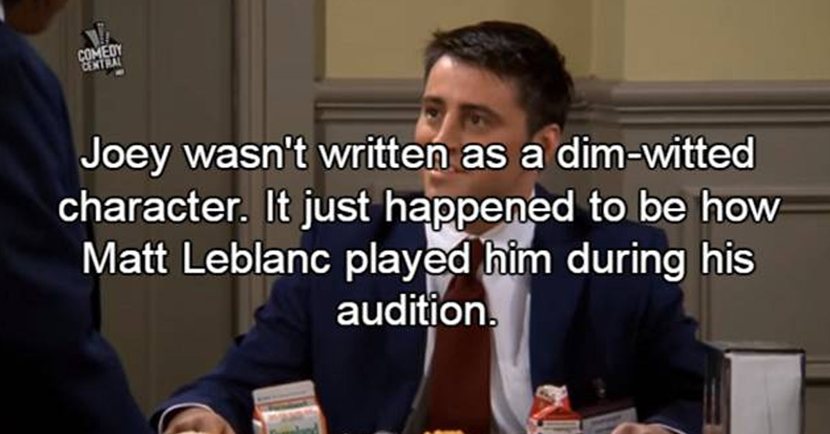 10 Facts You Probably Never Knew About Friends