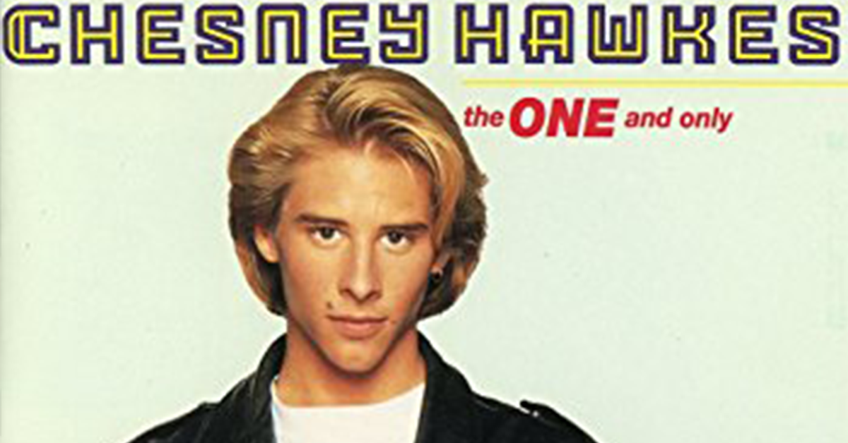 Remember Chesney Hawkes? Here Is What He Is Up To Today