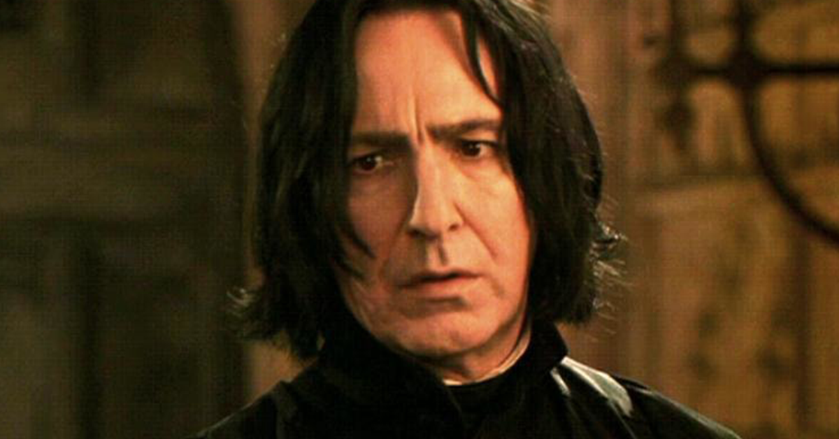 This Harry Potter Fan Theory Claims That Severus Snape Is Actually Still Alive