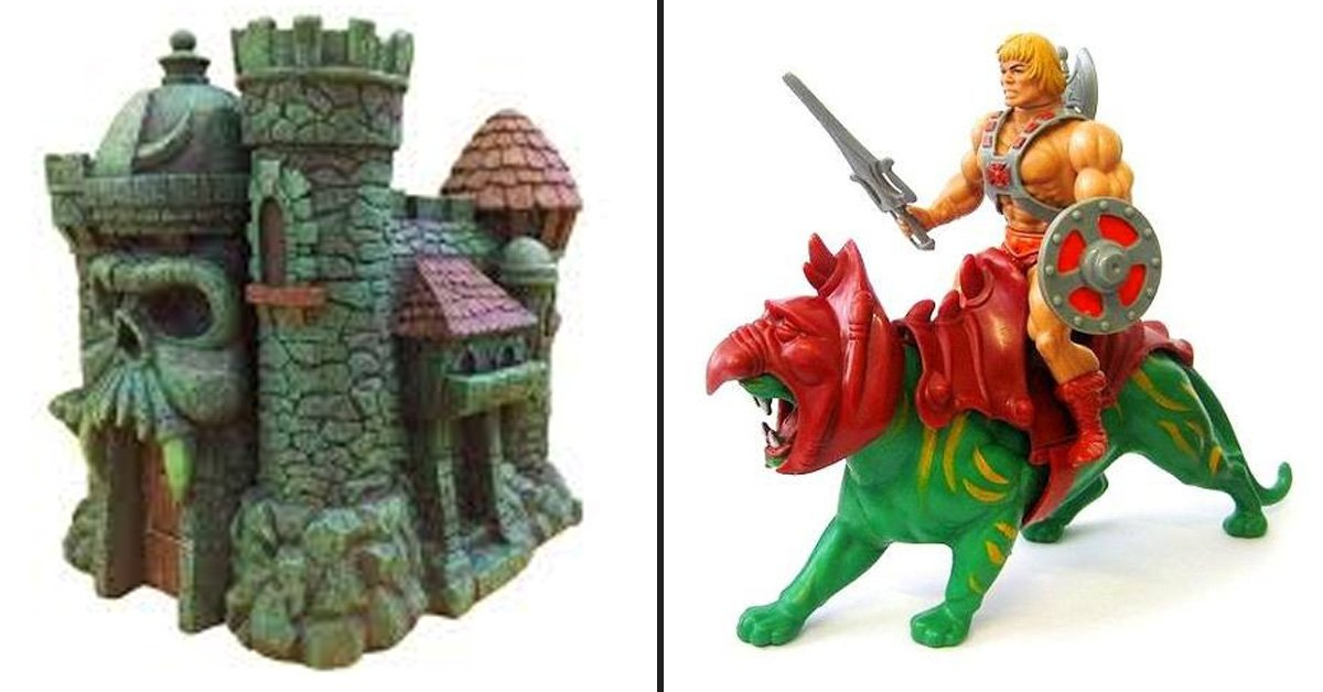 12 Awesome He-Man Toys From The 80's