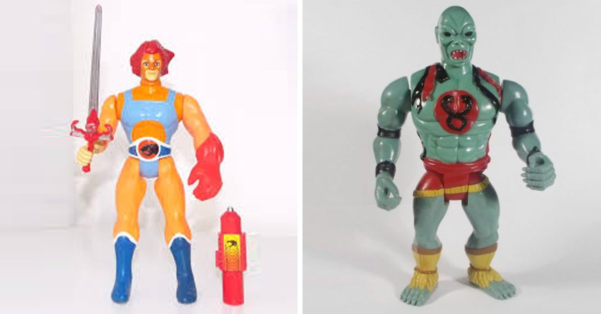 12 Of The Best Thundercats Toys From The 1980's