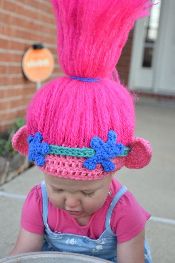 Crochet Pattern For Troll Hat : These Etsy Stores Are Making Troll Hair Hats And Theyre ...