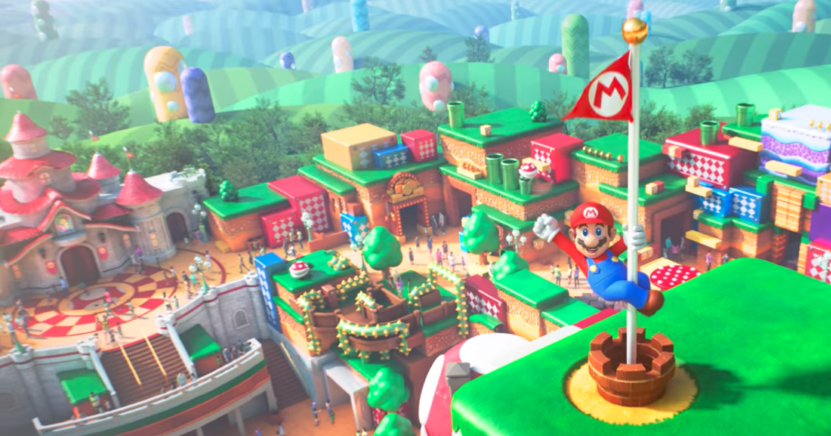 A go super nintendo world is previewed at universal studios japan super nintendo world is previewed at universal studios japan publicscrutiny Choice Image