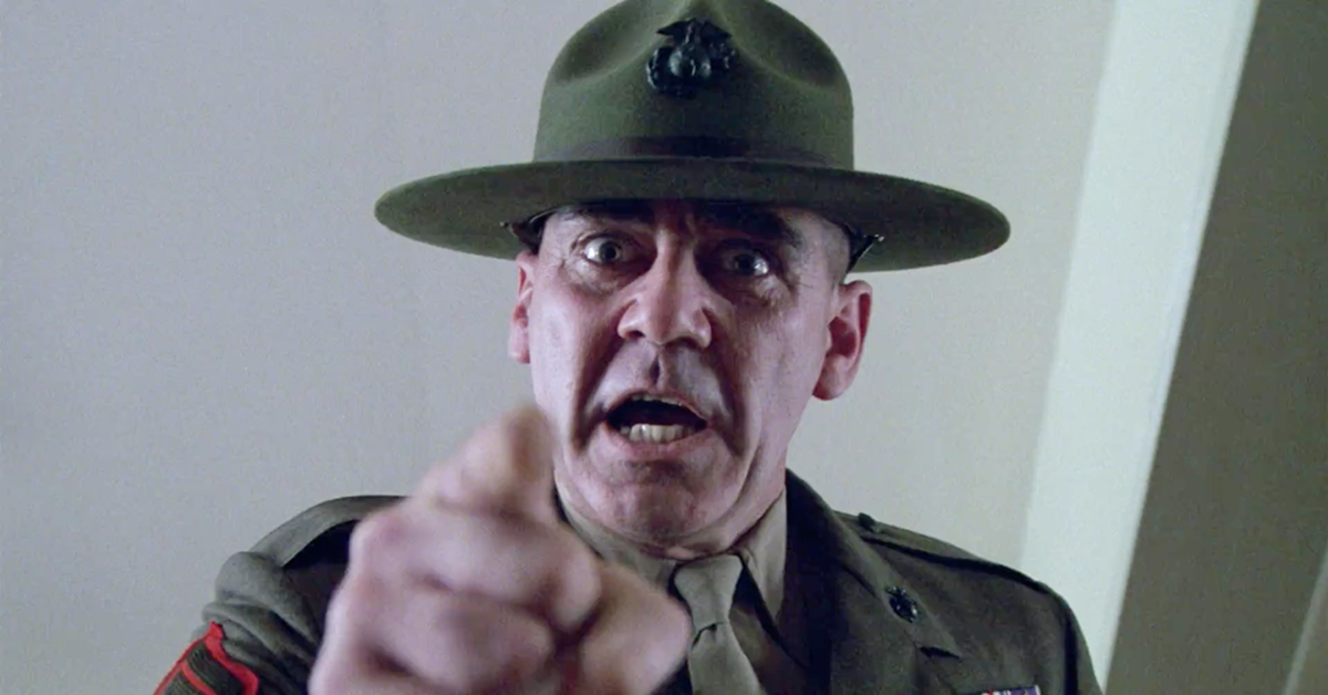 R Lee Ermey Full Metal Jacket Quotes The 10 Best Filthy But...