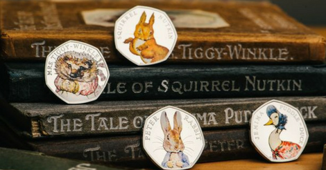 Beatrix Potter 50p Coins Could Be Hiding In Your Change