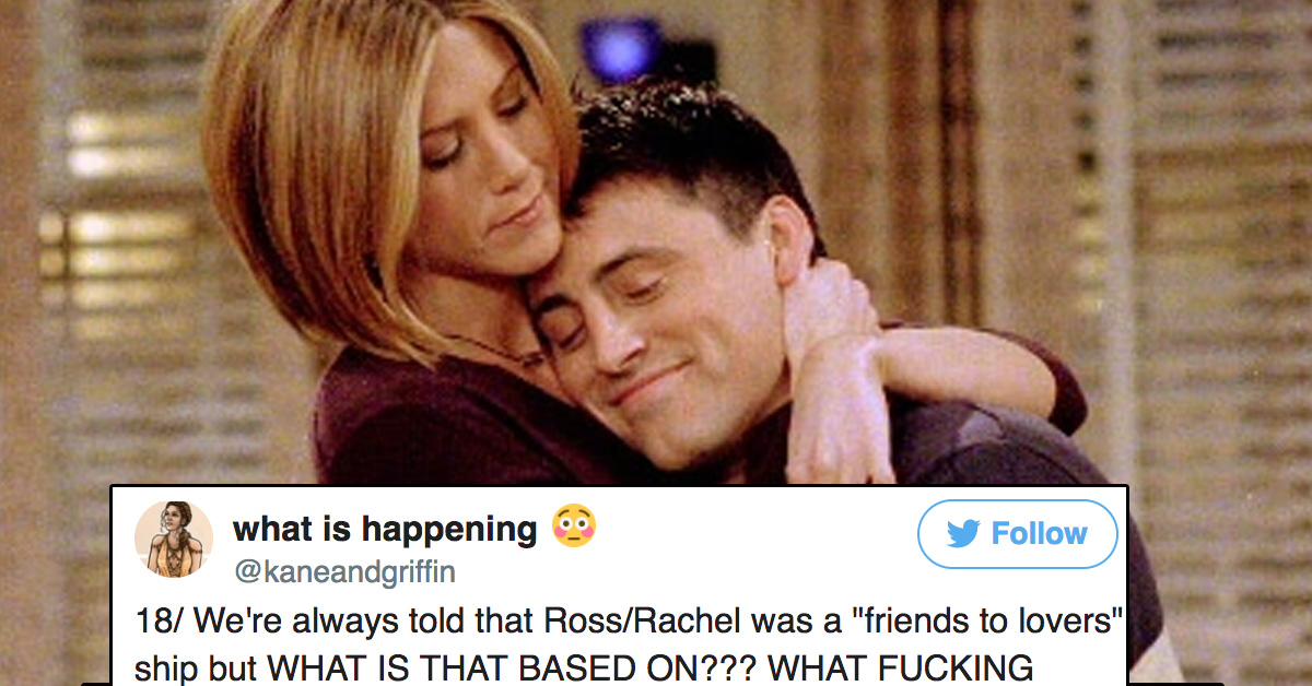 Massive Twitter Thread Denounces Rachel/Ross