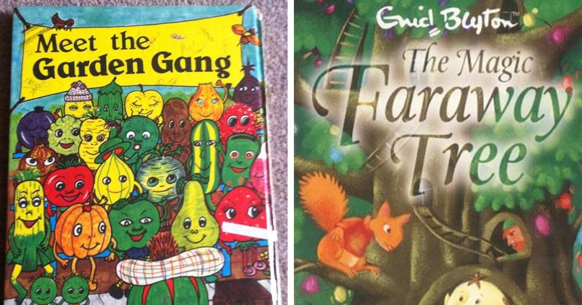 18 Classic Childrens Books From The 80s