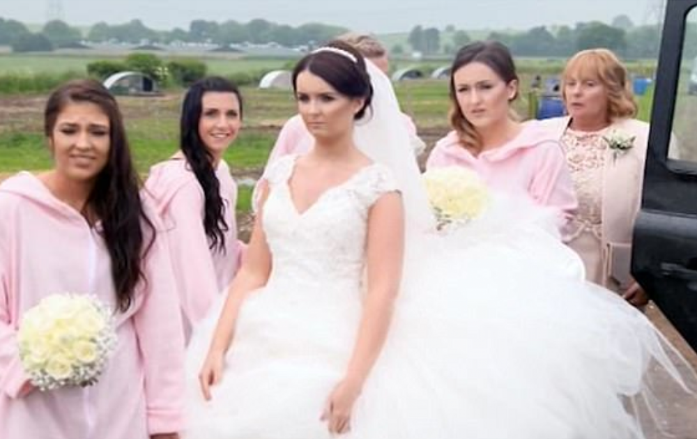 Bride Bristling With Rage At Pig Themed Wedding
