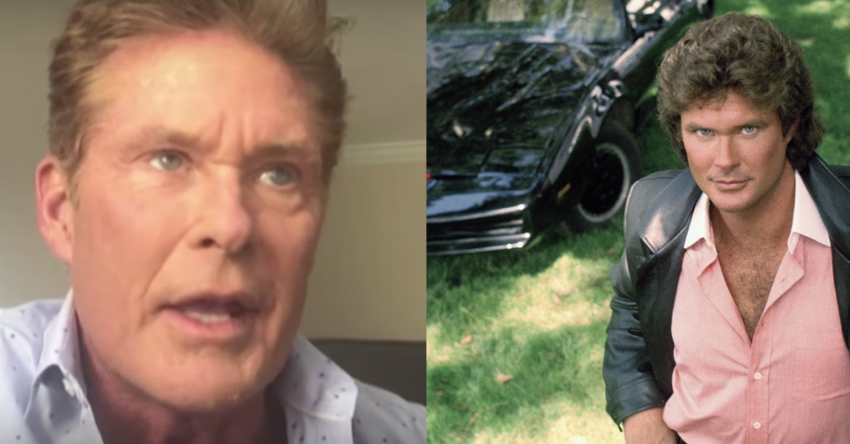 David Hasselhoff Just Made A Huge Announcement About Knight Rider
