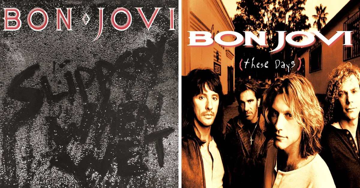 How Many Of Bon Jovi's 13 Albums Did You Buy?