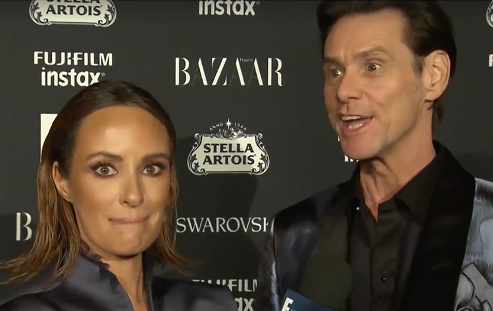 Jim Carrey Is Acting Weird As Hell In Recent Interview