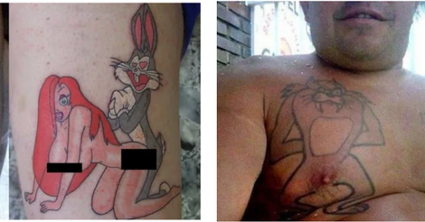 22 Tattoos That Will Ruin Your Childhood