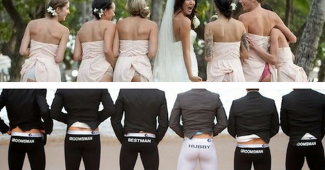 """50 Hilarious Wedding Photos That Will Make You Say """"I Don't"""""""