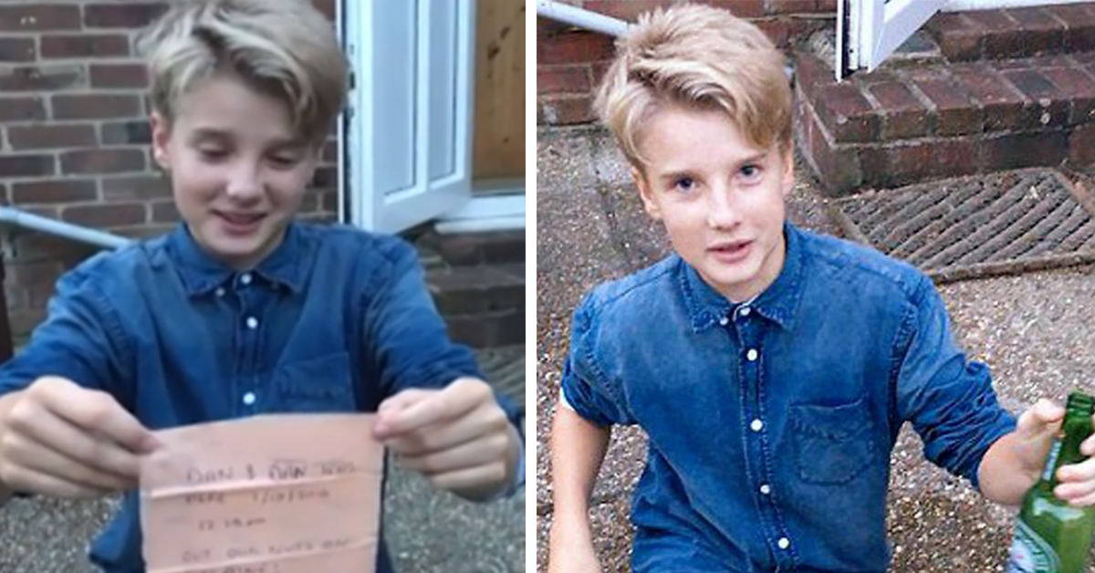 """Teen Who Finds A Message In A Bottle Is Disappointed By Note From A Pair Of """"Druggies"""""""