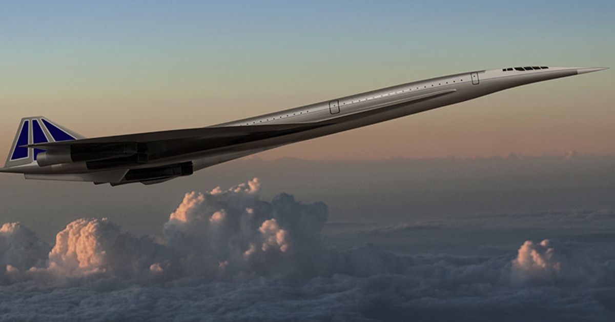 New Concorde Style Supersonic Jet Will Make The Journey From Sydney To Los Angeles In Just 7 HOURS