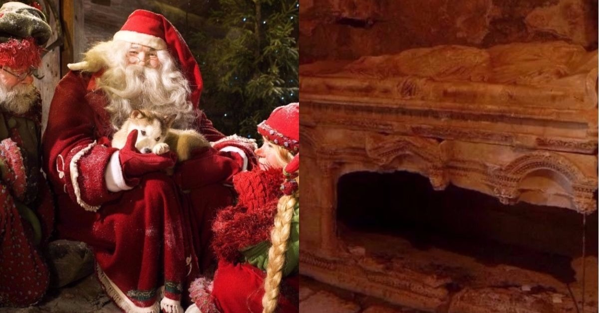 The Final Resting Place Of Santa Claus May Have Just Been Discovered