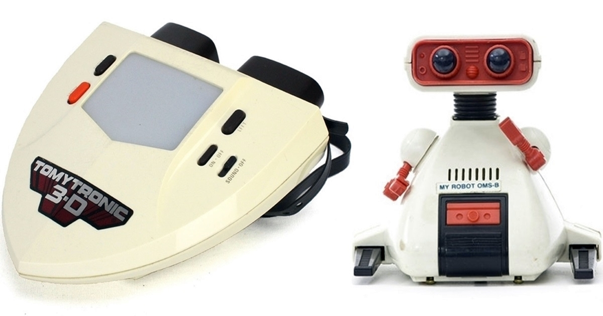 14 Amazing Tomy Toys Every 80s Child Wanted