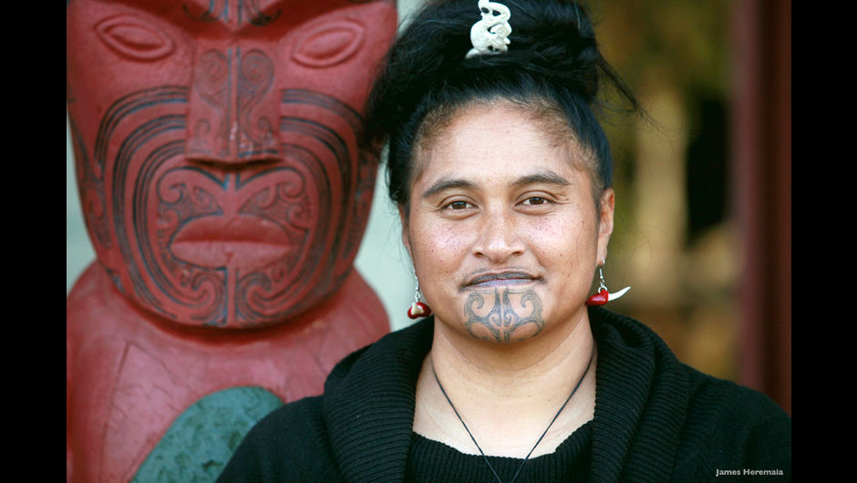 Female Ta Moko On Lips And Chin: The New Facial Tattooing Trend That's Out Of This World