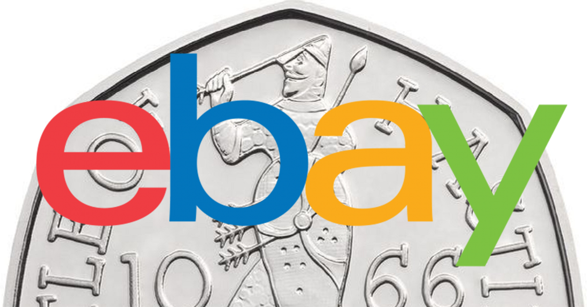 Super Rare 50 Pence Piece Is Selling For £2 MILLION On Ebay