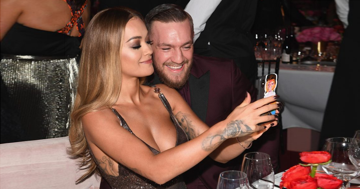 Rita Ora's Photo's With Conor McGregor Causes Controversy