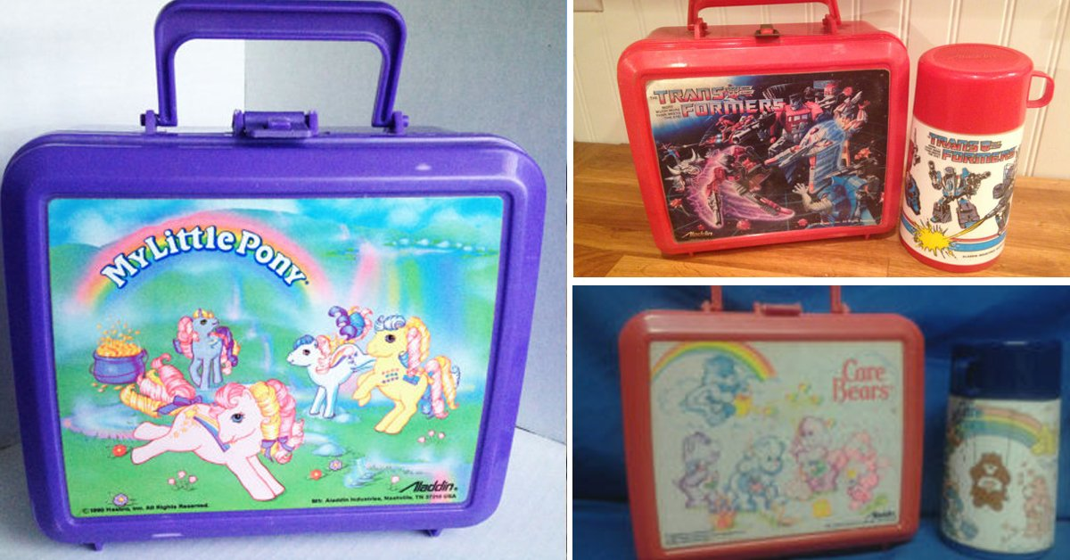 11 Lunchboxes That Will Take You Down Primary School Memory Lane