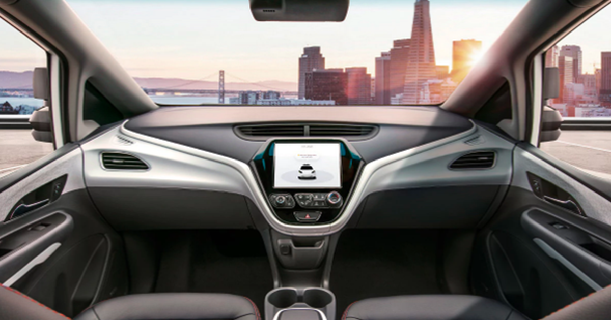 General Motors To Release A Completely Driverless Car In 2019