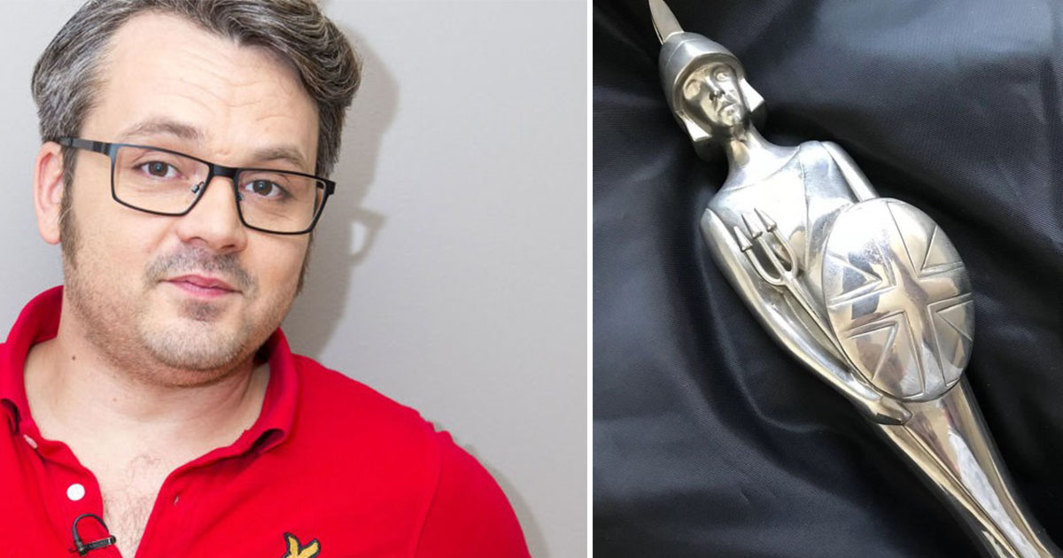 Former S Club 7 Member Paul Puts His Brit Award On Ebay Auction For Huge Price