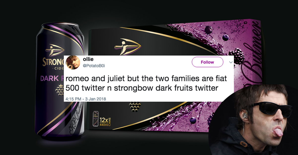 Strongbow Dark Fruits Boy Is Twitter's New Meme And It's Hilarious