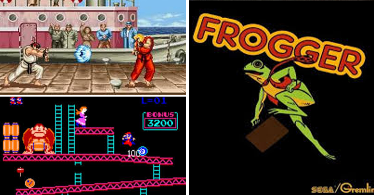 12 Of Our Favourite Arcade Games From The 80s