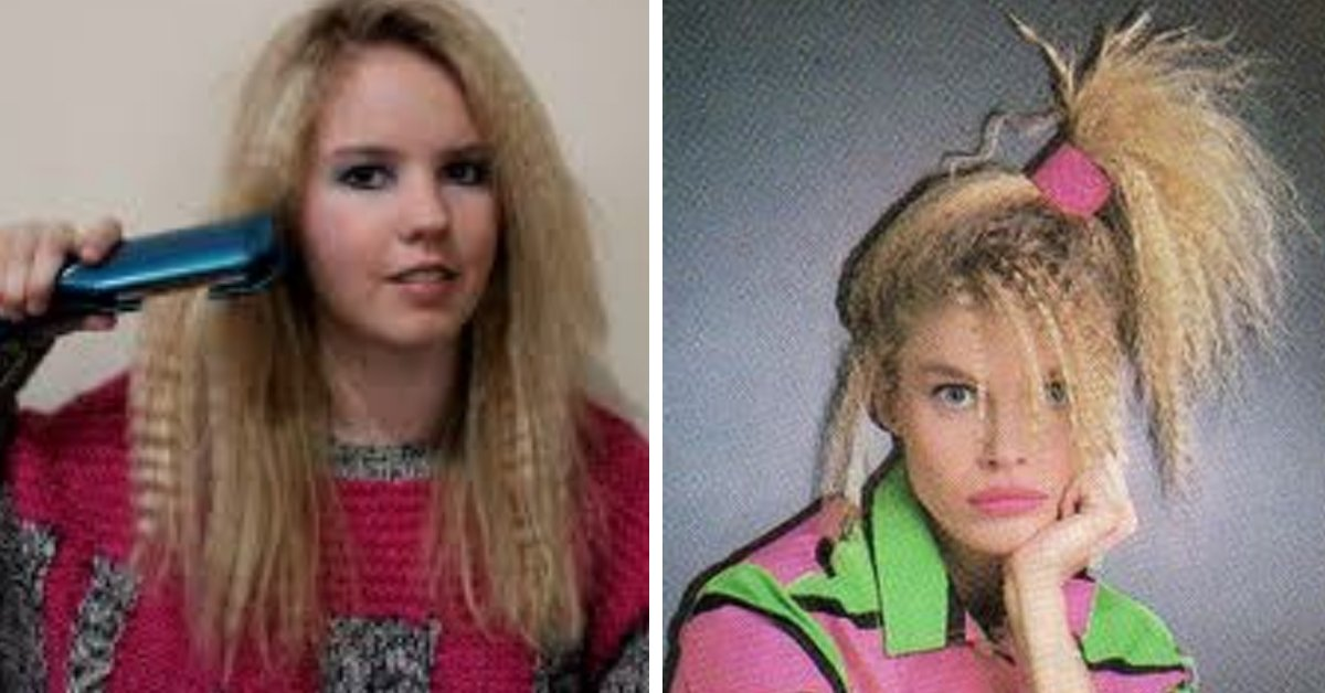 Were you guilty of any of these 80s beauty crimes!