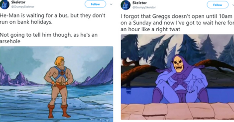 80's Kids Who Loved He-Man Will Find Skeletor's Twitter Hilarious