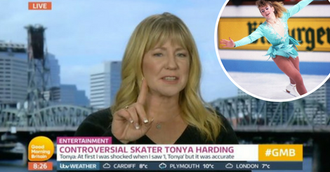 Tonya Harding Leaves Mid-Interview Following Accusations From Piers Morgan