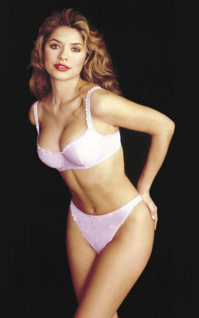Image result for holly willoughby modelling days