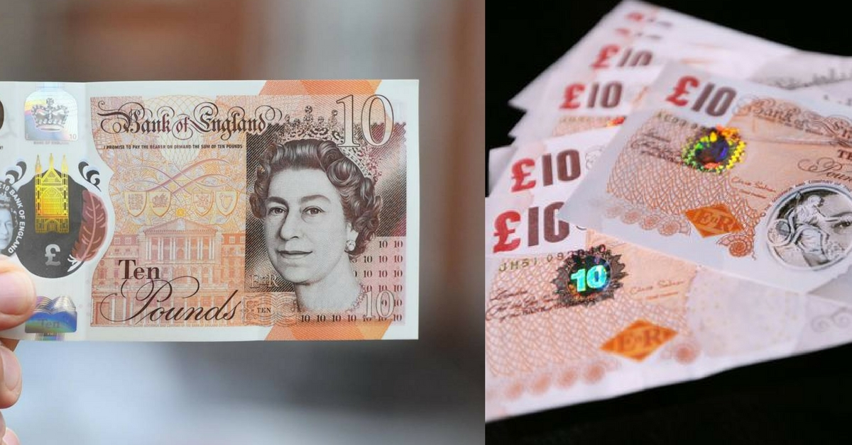 Last Chance To Use Up Old Paper £10 Notes Before They Expire