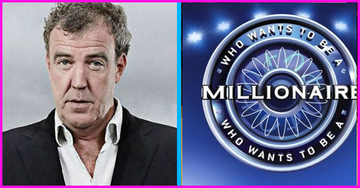 Jeremy Clarkson Set To Be Host Of Who Wants To Be A Millionaire