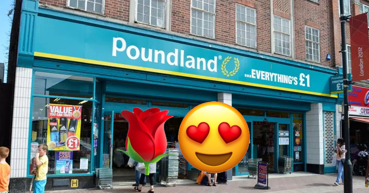 Poundland Offer A Three Course Valentine's Deal For Just A Fiver