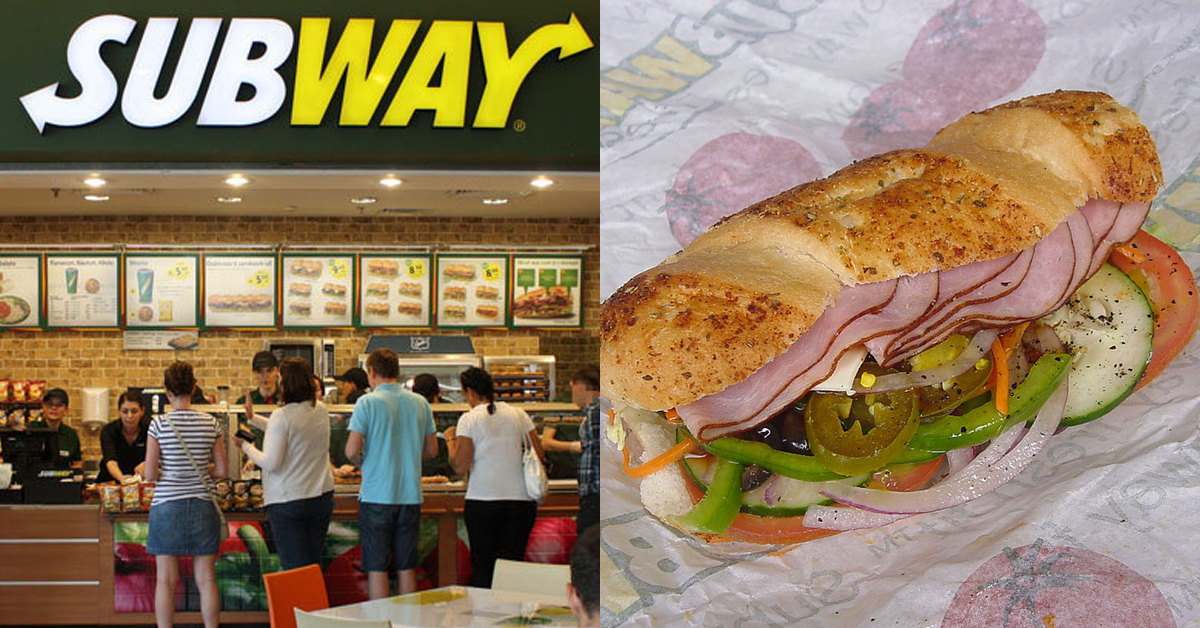 Subway Are Giving Out Free Six Inch Subs On Valentine's Day