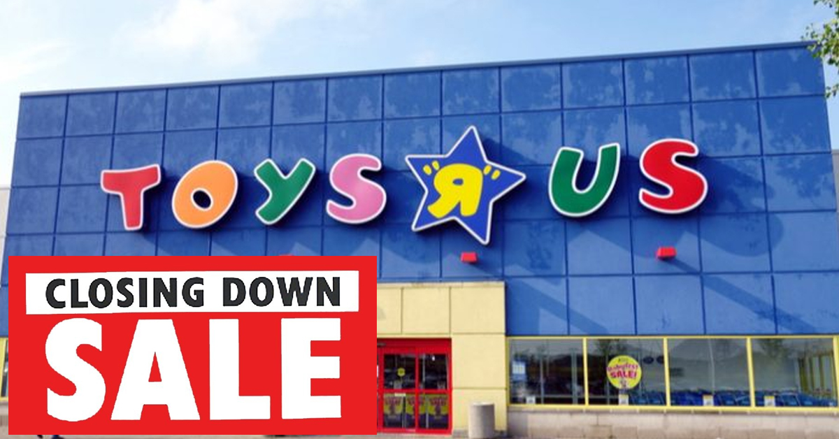 Toys R Us  Closing Down Sale Has Items From Just 6p