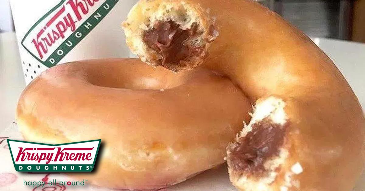 Krispy Kreme Are Now Selling Nutella Filled Doughnuts