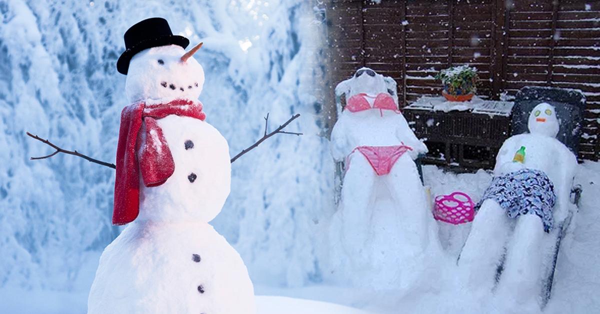 Millennials Demand Snowmen Should Be Renamed 'Snowpeople'