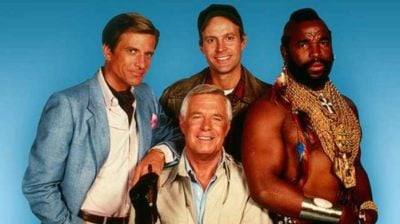 The cast of the a team