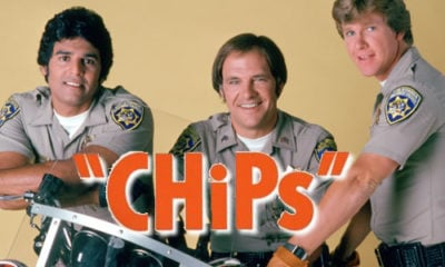 The title credits of CHiPs