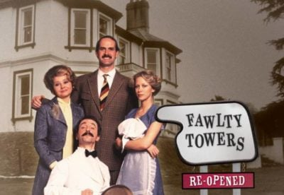A DVD cover of Fawlty Towers