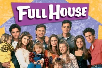 All of the cast members from Full House