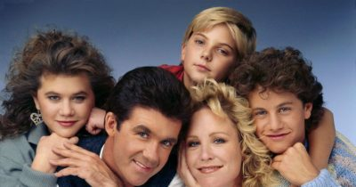 The cast of Growing Pains