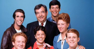 Classic 80s line up from Happy Days
