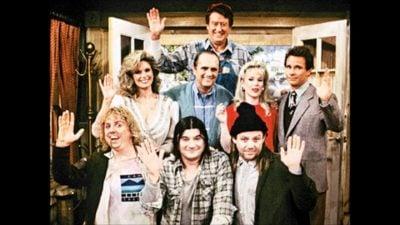 Main cast members from Newhart